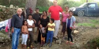 Οικογένεια Ρομά στο Ληξούρι