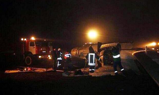 Αεροπορική τραγωδία στη Ρωσία