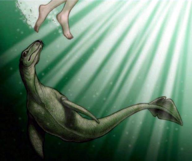 Το τεράστιο ερπετοειδές-κροκόδειλος