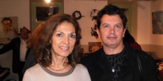 """Η κ.Έφη Λέντακη και ο κ.Κ.Ευαγγελάτος στο ίδρυμα """"Αντρέας Λεντάκης"""""""