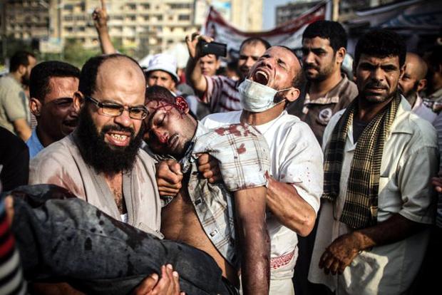Η εξέγερση στην Αίγυπτο
