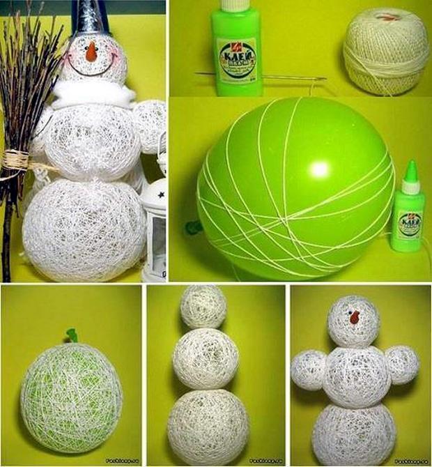 Creative-Way-to-Make-a-Snowman