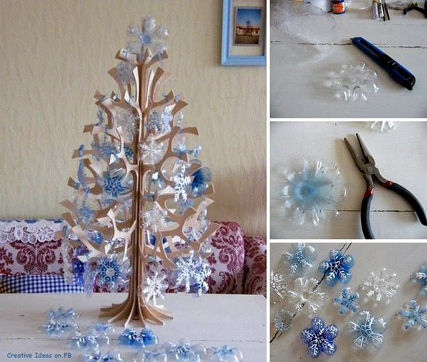 DIY-Snowflakes-from-a-Plastic-Bottle