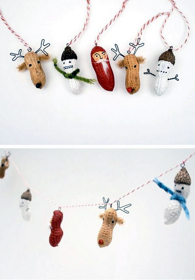 Peanut-Creatures-for-Ornaments-and-Garlands