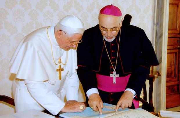 Συνάντηση με τον Πάπα Βενέδικτο ΙΣΤ'