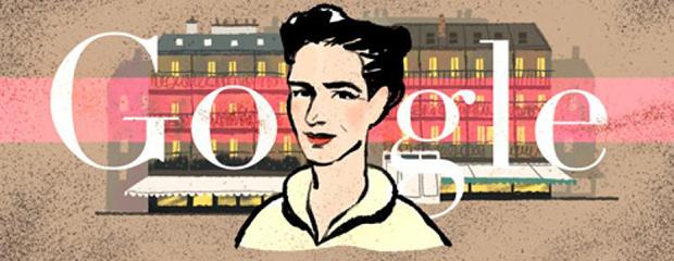 Τη Σιμόν ντε Μποβουάρ τιμά η Google