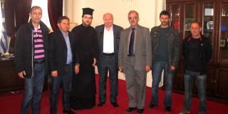Επίσκεψη αντιπροσωπείας  Δήμου Δωρίδος