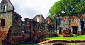Ό,τι έχει απομείναι από το ανάκτορο του Γεράκη στο Λοπμπούρι