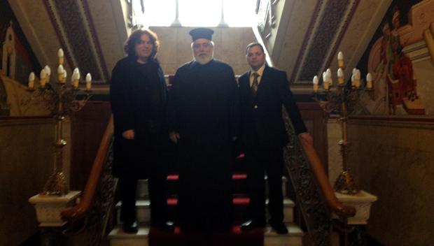 Επίσκεψη Κεφ. Αδελφότητας Αθηνών στον Αρχιεπίσκοπο κ. Ιερώνυμο