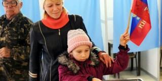 Η Κριμαία ψήφισε Πούτιν