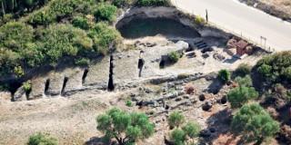 Αεροφωτογραφία Νεκροταφείου Μαζαρακάτων