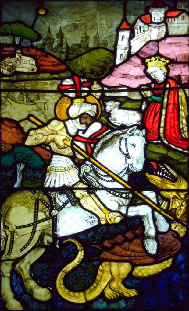"""St. George"" του Hans Acker"
