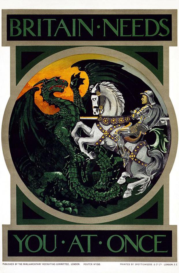 1440 Αφίσα για την επιστράτευση κατά τον Πρώτο Παγκόσμιο Πόλεμο στην Μεγάλη Βρετανία