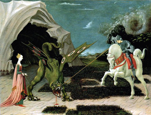 """Saint George and the Dragon"", του Paolo Uccello, 1470"