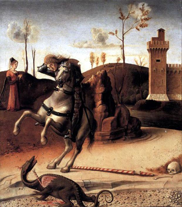 Λονδίνο Pesaro Altarpiece (Predella) του Giovanni Bellini, 1471-74
