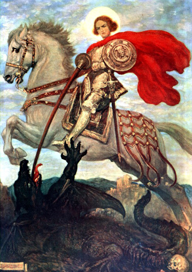 """St.George and the Dragon"", του George Scott"