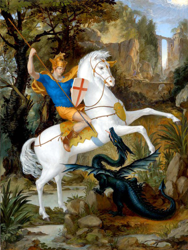 """St. George and teh Dragon"", του Leonard Porter"