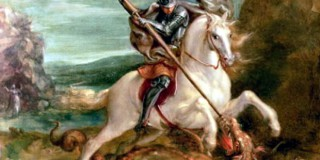 """St. George slaying the dragon"" του Hans Von Aachen"