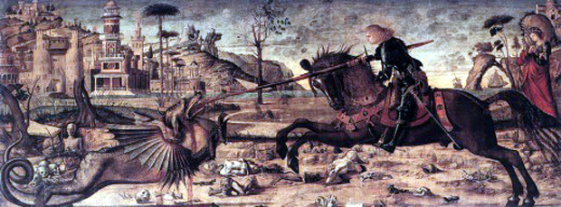 """St. George and the Dragon"", Vittore Carpacciο, 1502, Βενετία"