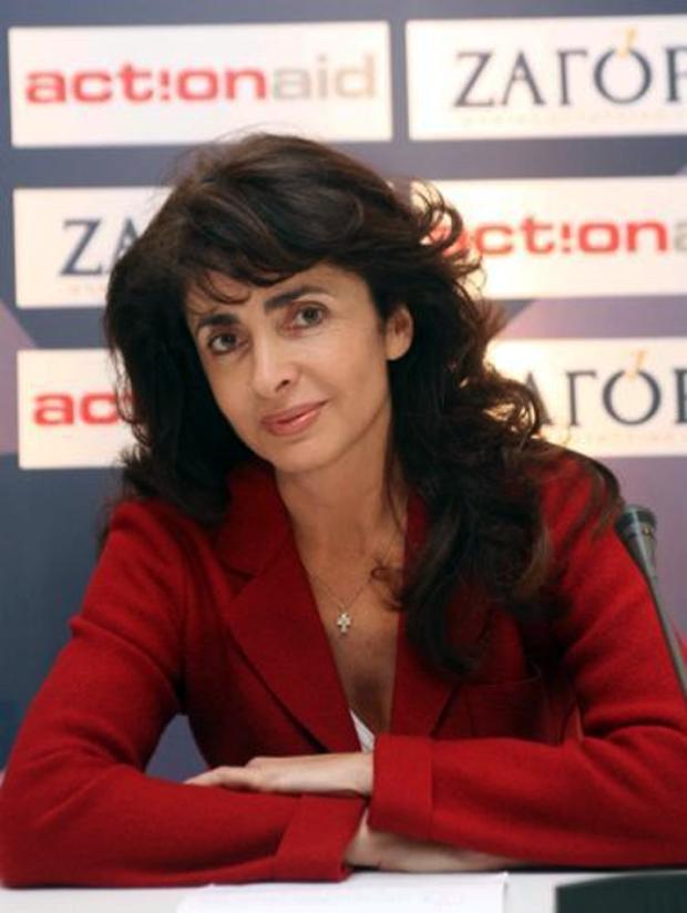 Η Αλεξάνδρα Μητσοτάκη, πρόεδρος της Action Aid Hellas
