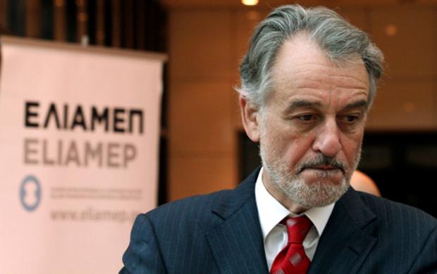 Ο πρόεδρος του Ελληνικού Ιδρύματος Ευρωπαϊκής και Εξωτερικής Πολιτικής (ΕΛΙΑΜΕΠ) Λουκάς Τσούκαλης