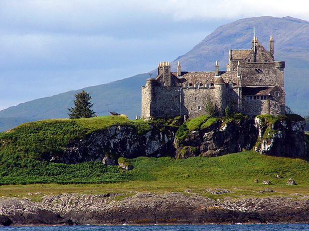 The 13th century Duart Castle - the seat of the MacLean Clan.