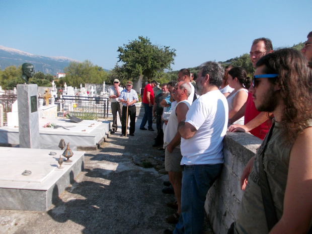 Ιστορικός περίπατος ΚΚΕ - ΚΝΕ σε Ζερβάτα & Μουζακάτα