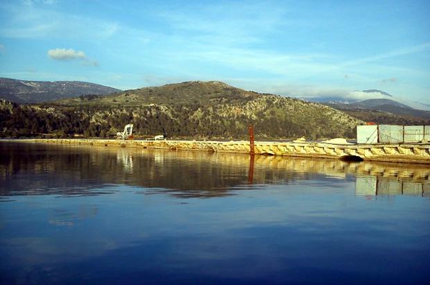 """Γέφυρα """"De Βosset"""" Αργοστολίου"""