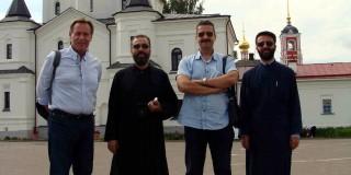 Eπίσκεψη Κεφαλληνιακής αντιπροσωπείας στον Άγιο Σέργιο στη Μόσχα