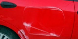 Φθορά σε αυτοκίνητο