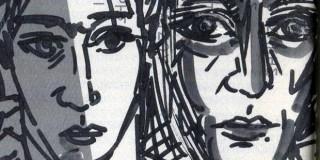 Η έκδοση εικονογραφείται από σχετικά με την ψυχική νόσο έργα μεγάλων ζωγράφων (Βαν Γκόγκ, Φρ. Γκόγια, Ιερ. Μπος, Π. Πικάσο) και από πρωτότυπα σχέδια του Κώστα Ευαγγελάτου, έργο του οποίου κοσμεί και το εξώφυλλο. .
