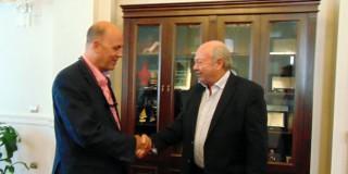 Επίσκεψη στο Δημαρχείο του Πρέσβη της Τουρκίας