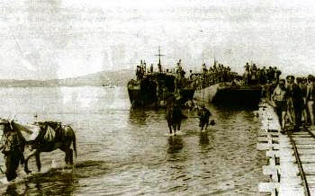 Η απόβαση των Γερμανών στο Αργοστόλι