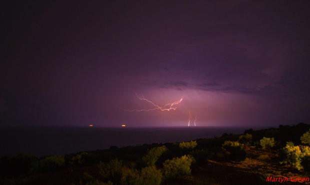 Storm in Cephalonia