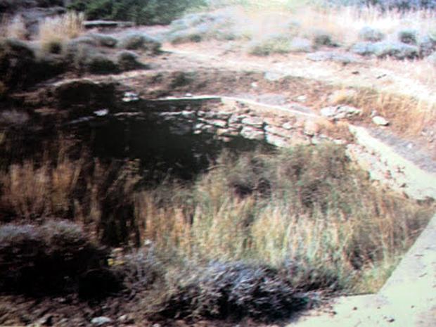 Οχυρό Μούντα. Τσιμεντένια θέση για εγκατάσταση αντιαεροπορικού (Ν. Τσελέντης)