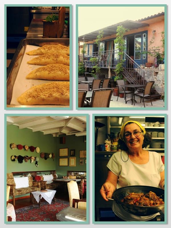 Το εστιατόριο Ποσσάδα που βρίσκεται στο μικρό χωριό Φαρακλάτα