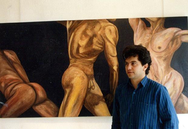 ΚΩΣΤΑΣ ΕΥΑΓΓΕΛΑΤΟΣ, DADA ART GALLERY, 1987