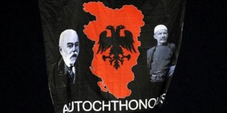 """Η... μισή Ελλάδα στη σημαία της """"Μεγάλης Αλβανίας"""""""