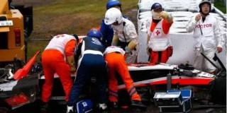 Σε κώμα ο Μπιανκί μετά από σοκαριστικό ατύχημα σε αγώνα Formula 1