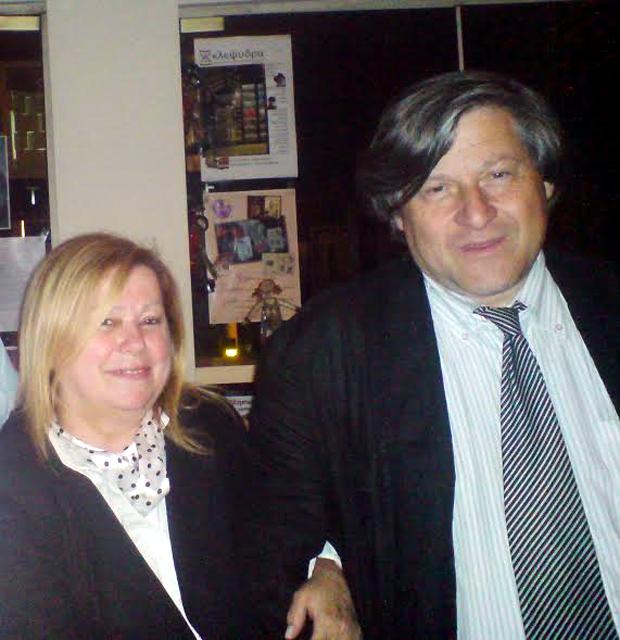 ΔΗΜΗΤΡΗΣ ΚΑΡΑΜΒΑΛΗΣ, ΜΑΡΙΑΝΝΑ ΒΛΑΧΟΥ-ΚΑΡΑΜΒΑΛΗ
