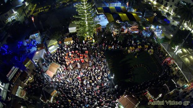 Χριστουγεννιάτικο δέντρο στο Αργοστόλι