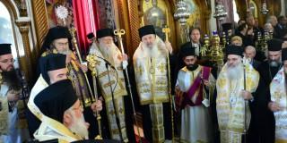 Eξόδιος ακολουθία του Μακαριστού Αρχιεπισκόπου Σπυρίδωνος