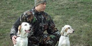 Κυνηγός με σκυλιά