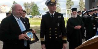 Η Ακαδημία Εμπορικού Ναυτικού «Βεργώτειος» τιμά το  Δήμαρχο Κεφαλονιάς