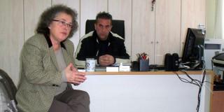 Επίσκεψη της Βουλευτή στην Ιθάκη
