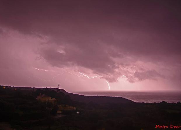 Η ομορφιά της καταιγίδας