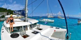 Sailing the Ionian Islands in Greece