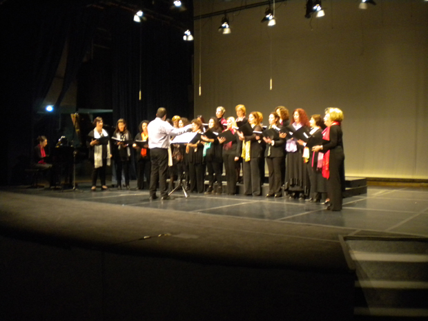 Η Γυναικεία χορωδία του Δήμου Κεφαλονιάς