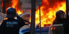Επεισόδια και τραυματίες σε διαμαρτυρία