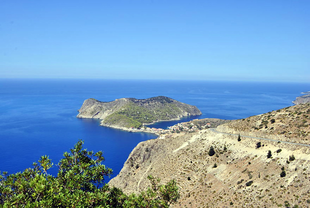 Panorama of Assos Village